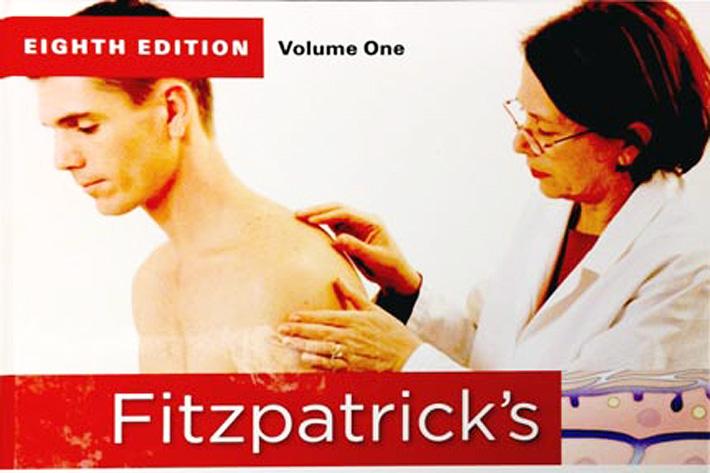 榮登國外專業皮膚科教科書